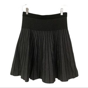 GRACE ELEMENTS Knit Skirt black and gray size M